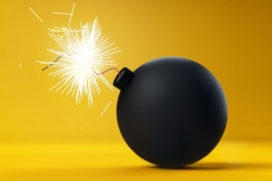 picture of a bomb